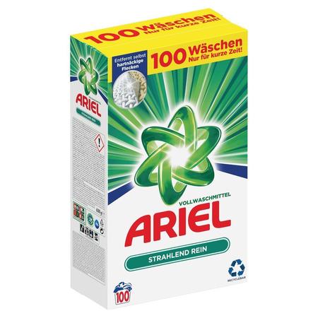 ARIEL Vollwaschmittel Pulver 6.5kg–   100Waschladungen