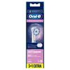 Bild: Oral-B Sensitive Clean Aufsteckbürsten mit   ultra-dünner Borsten-Technologie für unsere sanfteste Reinigung,   3+1Stück