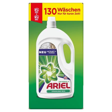 ARIEL Flüssigwaschmittel Universal+ – 130   Waschladungen