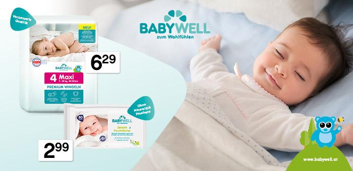 babywell Produkte für Ihren Schatz zum Wohlfühlen und Genießen
