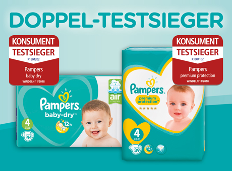 Pampers Testsieger