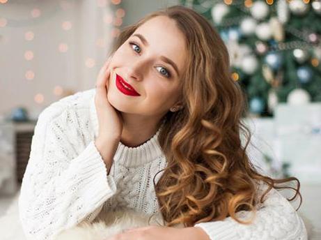 Strahlend schön beim Weihnachtsfest