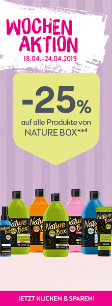 -25% auf alle Produkte von Nature Box