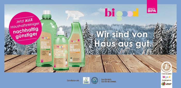 bi good Wasch-, Putz- & Reinigunsmittel