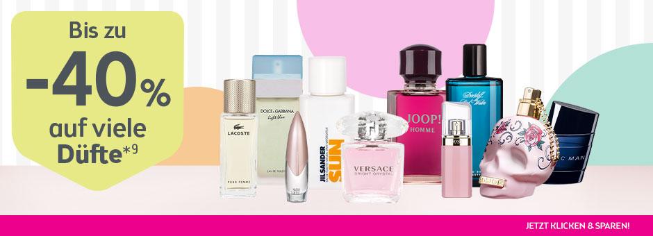 BIPA Aktion auf alle Parfums, Eau de Toilette