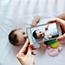 Fotoshooting mit Baby