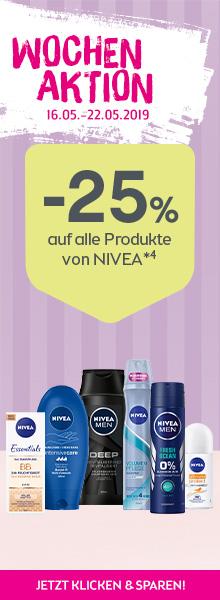-25% auf alle Niveaprodukte