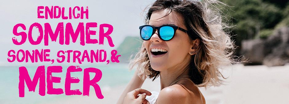 BIPA Strandurlaub: Sonnenbrillen, Flip Flops, Handtücher uvm.