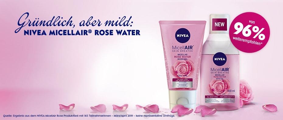 NIVEA MicellAIR® Rose Water Mizellenwasser mit Rosenwasser