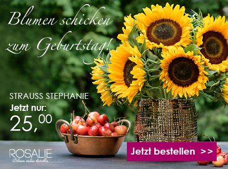 Rosalie Blumen schicken
