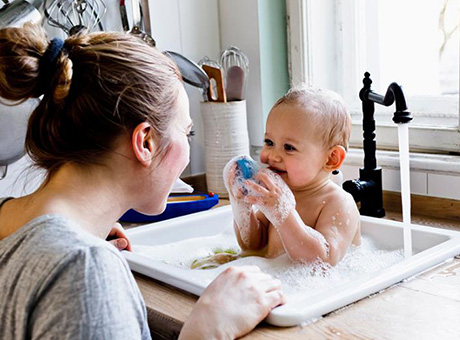 Hautpflege bei Babys