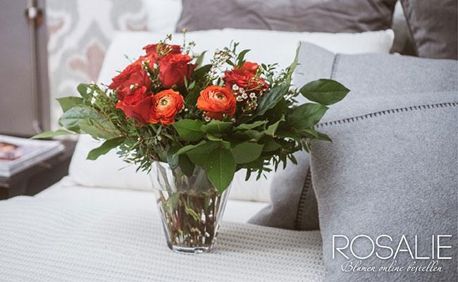 Blumen zu Weihnachten schenken