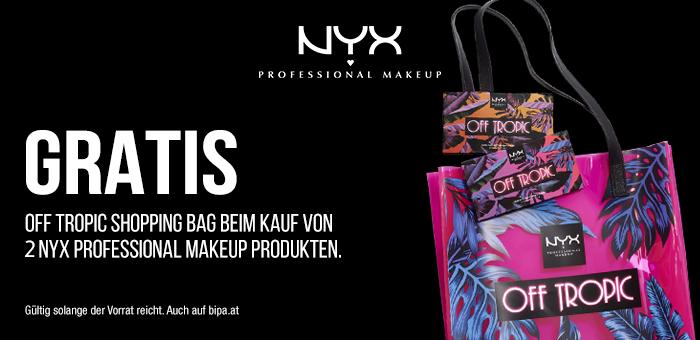 Gratis Shopping Bag bei 3 NYX Produkten