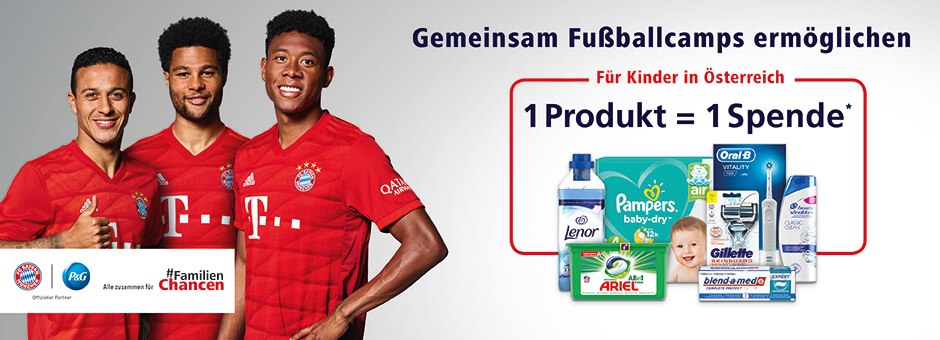 Spendenaktion P&G