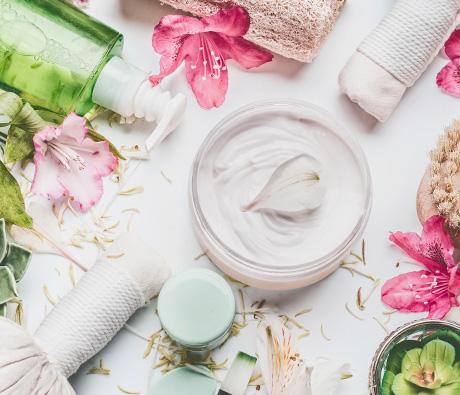 Naturkosmetik und pflanzliche Kosmetik