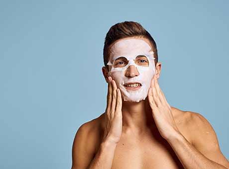 Gesichtsmasken für Männer