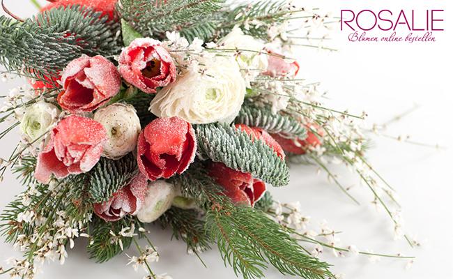 Blumen versenden von Rosalie