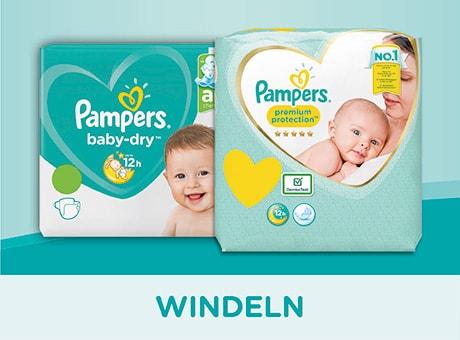Pampers Windeln online bestellen