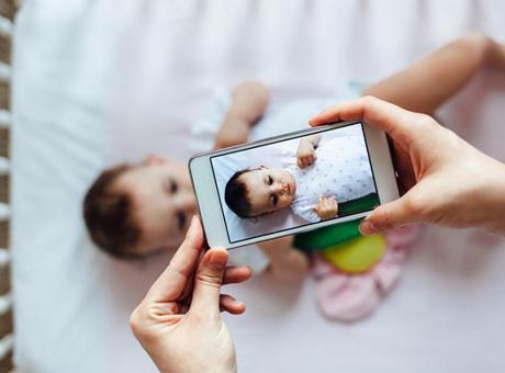 BIPA.me Fotoshooting mit Baby