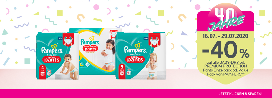 40 Jahre Pampers