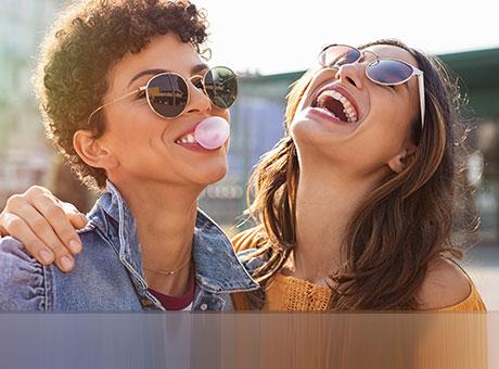 Kaugummis die gut für die Zähne sind