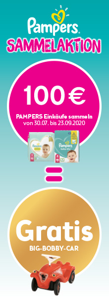Pampers Sammelaktion