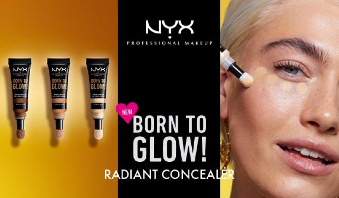 NYX Born to glow!