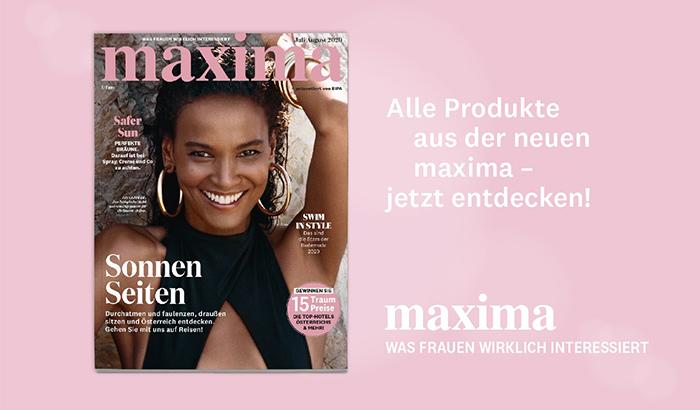 maxima aktuelle Ausgabe Juli August 2020
