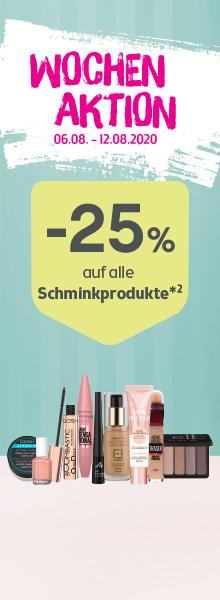 BIPA Aktion Schminke