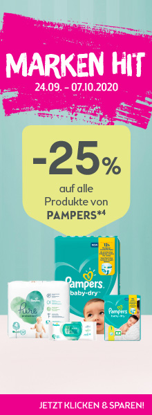 BIPA Aktion Pampers