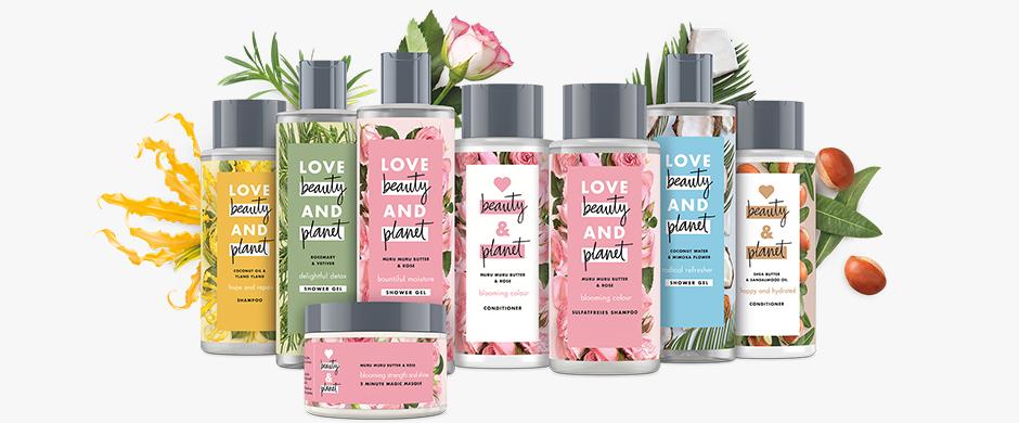 Love Beauty & Planet Shampoo & Spülung