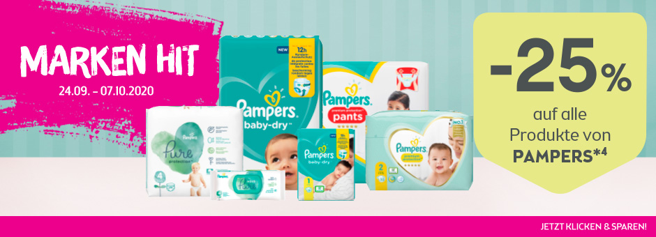 Markenhit Pampers