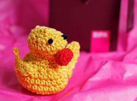 Häkel-Ente Vincente, die Ente