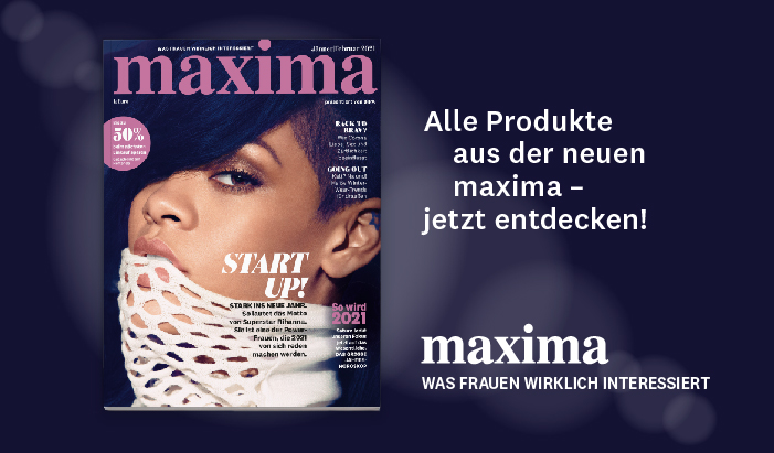 maxima aktuelle Ausgabe Januar 2021