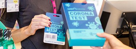 Corona-Selbsttest für zuhause