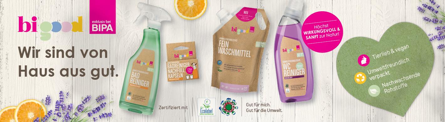 bi good Wasch-, Putz- & Reinigungsmittel