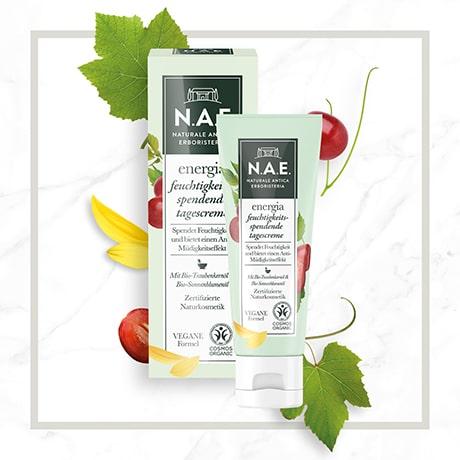 N.A.E. zertifizierte Naturkosmetik