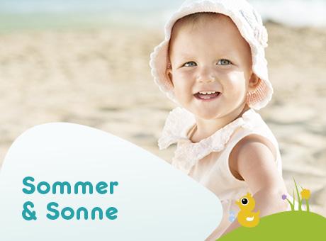 BABYWELL im Sommer für das Baby