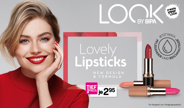 LOOK BY BIPA Lovely Lipsticks