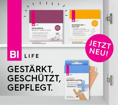 BI LIFE Nahrungsergänzungsmittel und Medizinprodukte bei BIPA