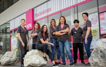 Mitarbeiterinnen - Vielfalt