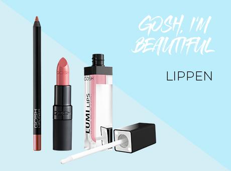 GOSH Make up für die Lippen